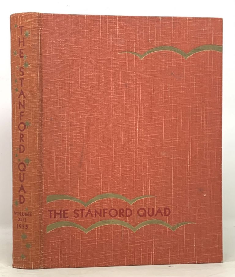 The QUAD. Volume 42. 1935. Stanford University Yearbook, Everett - Moses.