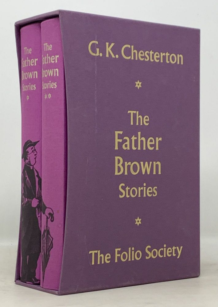 The FATHER BROWN STORIES.; Introduction by Colin Dexter. . . Dexter Chesterton, Colin - Contributor, ilbert, eith. 1874 - 1936.