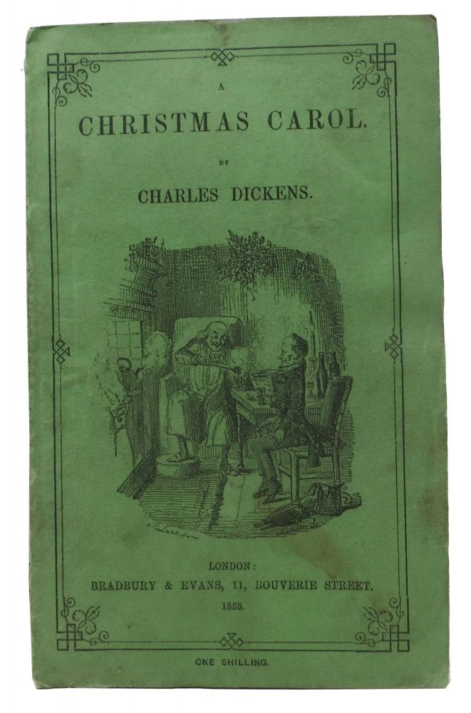 The Christmas Carol Book.A Christmas Carol In Prose Being A Ghost Story Of Christmas By Charles Dickens 1812 1870 On Tavistock Books