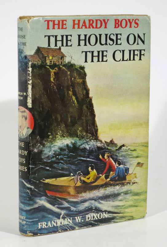 The HOUSE On The CLIFF. The Hardy Boys Mystery Series #2. Franklin W. Dixon.
