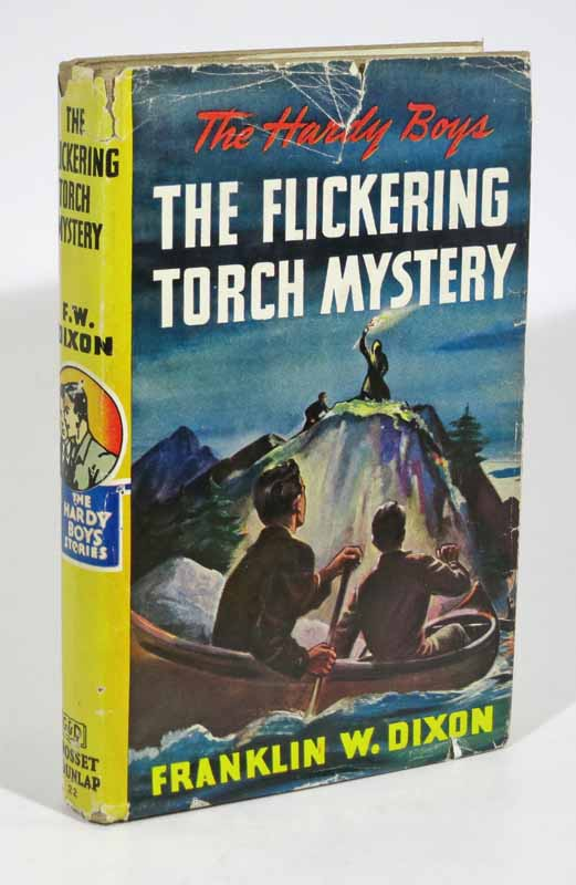 The FLICKERING TORCH MYSTERY. The Hardy Boys Mystery Series #22. Franklin W. Dixon.