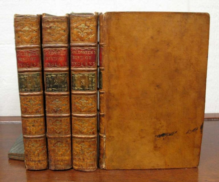 The HISTORY Of ENGLAND, From the Earliest Times to the Death of GEORGE II. In Four Volumes. Oliver Goldsmith, 1728 - 1774.