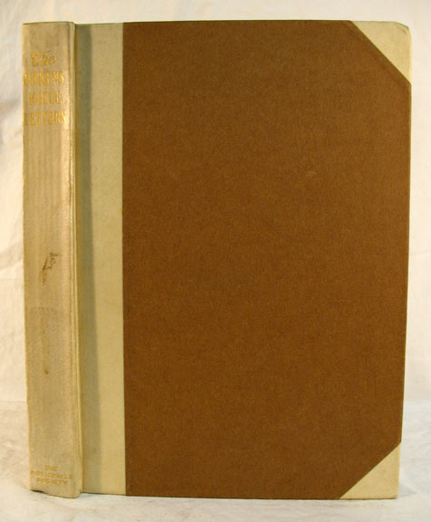 The DICKENS - KOLLE LETTERS. Charles . Smith Dickens, Harry B. -, 1812 - 1870.