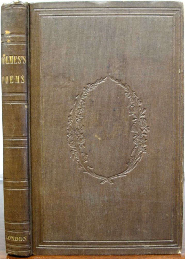 POEMS. Charles. 1812 - 1870 Dickens, Oliver Wendell Holmes, 1809 - 1894.