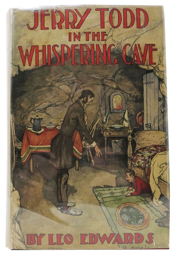 JERRY TODD In The WHISPERING CAVE. Jerry Todd Series #7. Leo Edwards, Edward Edson. 1884 - 1944 Lee.