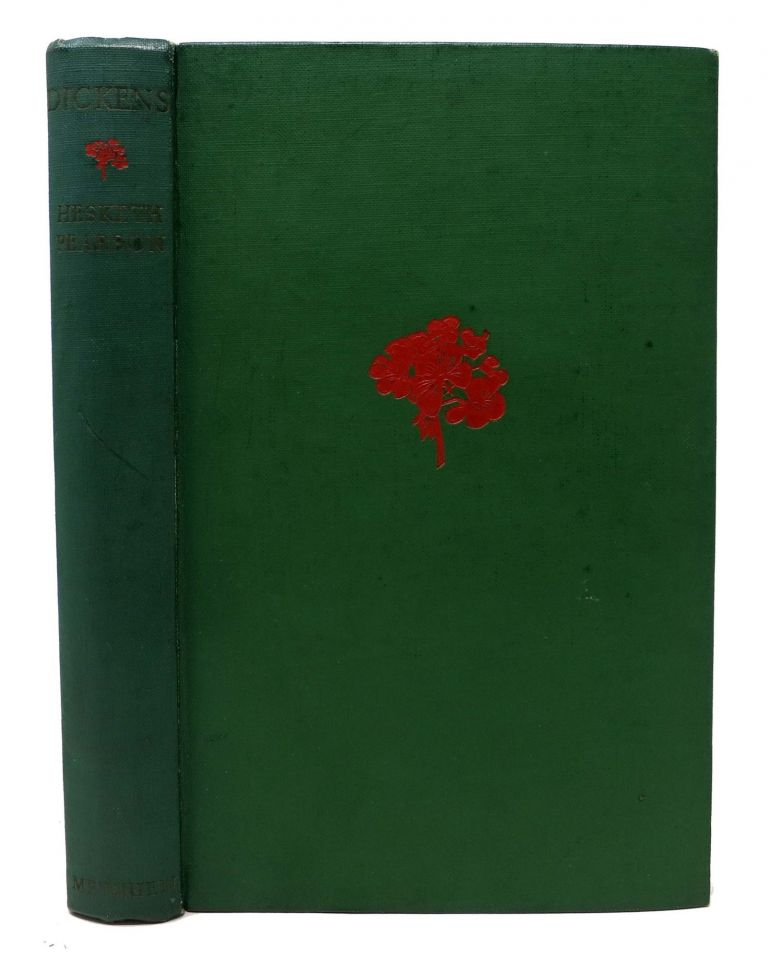 DICKENS His Character, Comedy & Career. Charles. 1812 - 1870 Dickens, Hesketh Pearson.