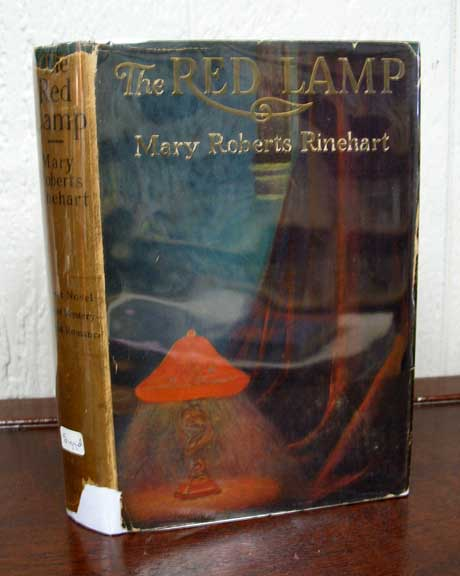 The RED LAMP. Vincent. 1886 - 1974 Starrett, Mary Rinehart Roberts, 1876 - 1958.
