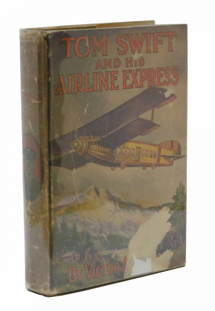 TOM SWIFT And His AIRLINE EXPRESS. Tom Swift Sr. Series #29. Victor Appelton.