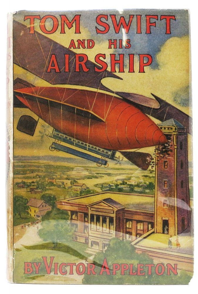 TOM SWIFT And His AIRSHIP. Tom Swift Sr. Series #3. Victor Appleton.