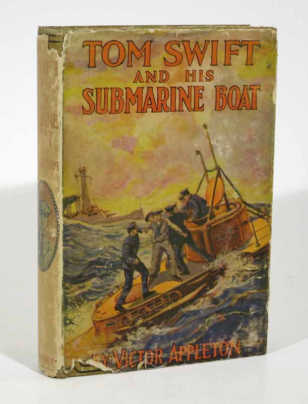 TOM SWIFT And His SUBMARINE BOAT. Tom Swift Series #4. Victor Appleton.