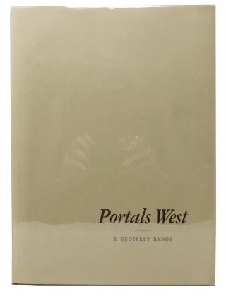 PORTALS WEST. A Folio of Late Nineteenth Century Architecture in California.; Preface by Robert...