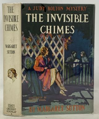 The INVISIBLE CHIMES. Judy Bouton Mystery #3. Margaret Sutton