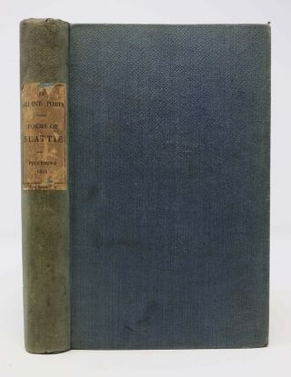 The POETICAL WORKS Of JAMES BEATTIE.; 'Memoir of Beattie' by Reverand Alexander Dyce. Wm. -...