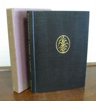 BOOTH TARKINGTON. A Bibliography. Barton. Tarkingon Currie, Booth - Subject