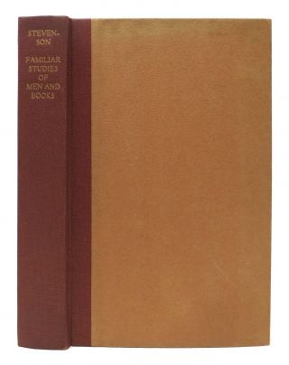 FAMILIAR STUDIES Of MEN & BOOKS. Florence Press Edition. Robert Louis Stevenson