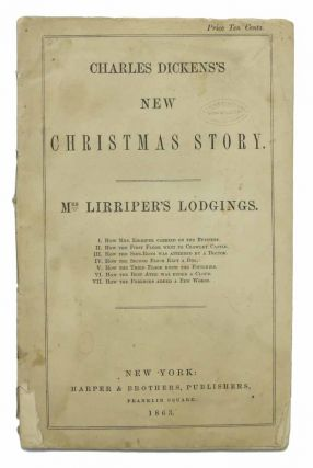MRS. LIRRIPER'S LODGINGS. Charles Dickens's New Christmas Story. Charles . Gaskell Dickens,...