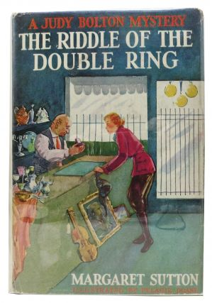 The RIDDLE Of The DOUBLE RING. The Judy Bouton Mystery Series #10. Margaret Sutton