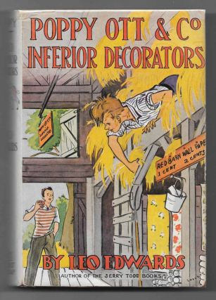 POPPY OTT And The INFERIOR DECORATORS. Poppy Ott Series #9. Leo Edwards, Edward Edson Lee