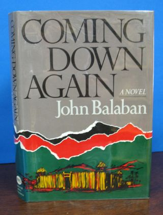 COMING DOWN AGAIN. John Balaban