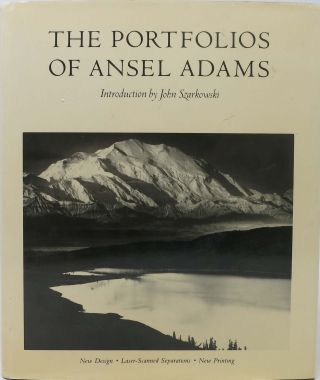 The PORTFOLIOS OF ANSEL ADAMS.; Introduction by John Szarkowski. Ansel . Szarkowski Adams, John - Contributor.