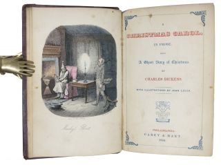 A CHRISTMAS CAROL. In Prose. Being a Ghost Story of Christmas.
