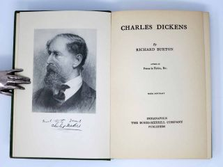 CHARLES DICKENS. How To Know HIm.