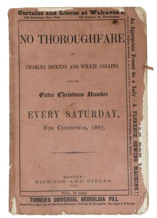 NO THOROUGHFARE. The Extra Christmas Number for 1867. EXTRA SATURDAY: A Journal of Choice...
