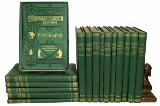 The WORKS Of CHARLES DICKENS. Household Edition. Charles Dickens, 1812 - 1870.