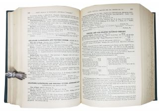 MANUAL Of The RAILROADS Of The UNITED STATES For 1894. Showing Their Route and Mileage; Stocks, Bonds, Debts, Cost, Traffic, Earnings, Expenses & Dividends; Their Organizations, Directors, Officers, etc. With an Appendix Containing a Full Analysis of the Debts of the United States, the Several States and the Chief Counties, Muncipalities, etc., of the Country. Also Statements of Street railway and traction companies, miscellaneous corporations, etc.