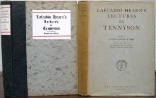 LECTURES On TENNYSON.; Edited by Shigetsugu Kishi. Lafcadio Hearn
