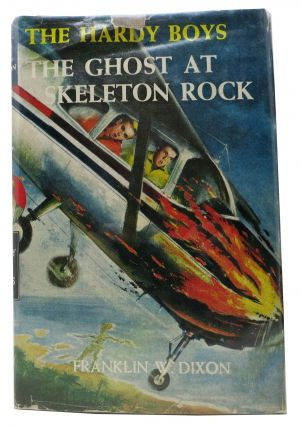 The GHOST At SKELETON ROCK. The Hardy Boys Series #37. Franklin W. Dixon