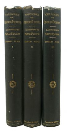 BARNABY RUDGE. Works of Charles Dickens. Household Edition. Charles . Darley Dickens, . . -,...