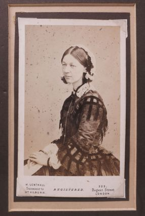 AUTOGRAPH NOTE [ANs], Signed. To Mrs Fulkes. Dated 16 July 1878. [accompanied by ]. Carte - de - Visite [CDV].