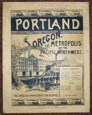 PORTLAND OREGON, The Metropolis of the Pacific Northwest.