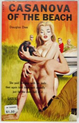 CASANOVA Of The BEACH. SA-109. Adult Fiction, Douglas Dee.