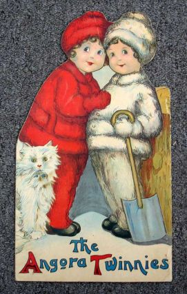 The ANGORA TWINNIES. Die Cut Childrens Book, Margaret Evans - Price