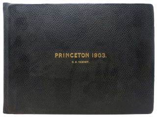 PRINCETON. 1903. Class Photograph Album, 1856 - 1924, C. B. - Former Owner. Woodrow Keeney, Wilson - University President.