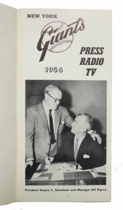 PRESS RADIO TV. 1956.