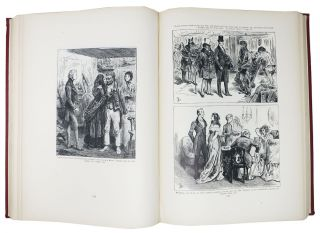 "SCENES And CHARACTERS From The WORKS Of CHARLES DICKENS. Being Eight Hundred and Sixty-Six Drawings ... Printed from the Original Wood Blocks Engraved for ""The Household Edition""."