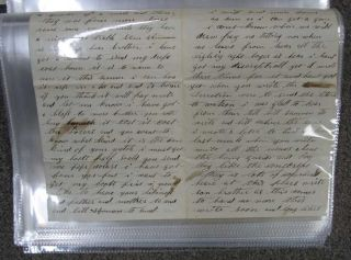 ARCHIVE Of SHUMAN FAMILY LETTER CORRESPONDENCE, August 1862 - September 1866.