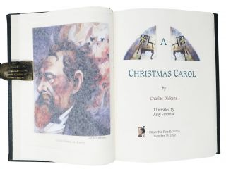 A CHRISTMAS CAROL. Afterword by R. L. Dean.
