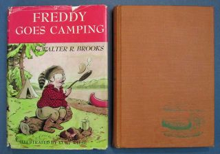 FREDDY GOES CAMPING. Walter Brooks, ollin. 1186 - 1958