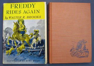 FREDDY RIDES AGAIN. Walter Brooks, ollin. 1186 - 1958