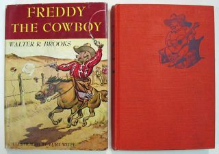 FREDDY The COWBOY. Walter Brooks, ollin. 1186 - 1958