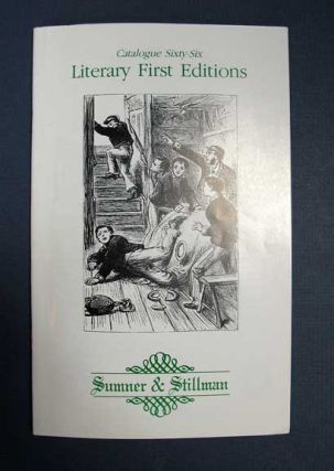 LITERARY FIRST EDITIONS: Catalogue Sixty-Six. Susan Sumner Loomis, Richard Stillman Loomis, Jr