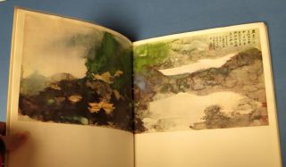 CHANG DAI-CHIEN'S PAINTINGS. With 130 Reproductions of the Master's Paintings Since 1944.