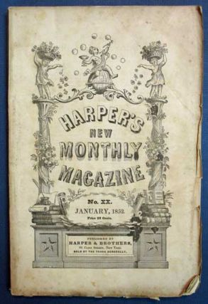 TO BE READ AT DUSK [as published in] Harper's New Monthly Magazine. No. XX. Vol. IV. January,...