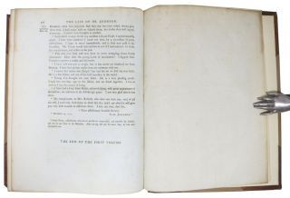 The LIFE Of SAMUEL JOHNSON Comprehending an Account of His Studies and Numerous Works, in Chronological Order; A Series of His Epistolary Correspondence and Conversations with Many Eminent Persons; and Various Original Pieces of His Composition, Never Before Published. The Whole Exhibiting a View of Literature and Literary Men in Great - Britain, for Nearly Half a Century, During Which He Flourished. In Two Volumes.