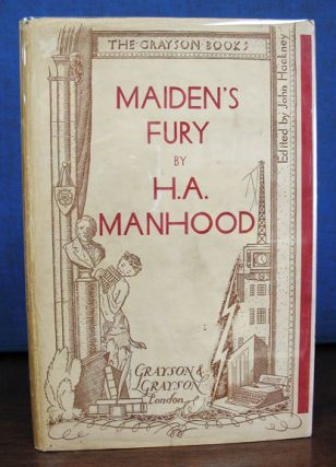 MAIDEN'S FURY. The Grayson Books Edited by John Hackney. Manhood, arold, lfred. 1904 - 1991