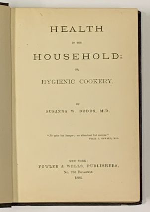 HEALTH In The HOUSEHOLD; or, Hygienic Cookery.
